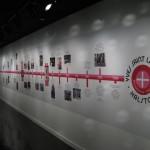 "Timeline at ""Yves Saint Laurent + Halston"" Photo by Nadine Stewart"