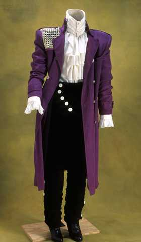 Prince's Purple Rain Costume, Accession No.: 1987.124.1-5 Gift of PRN Productions. (Minnesota Historical Society)