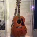 John Lennon's acoustic guitar, 1964, collection of the Estate of John Lennon
