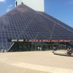 Rock and Roll Hall of Fame museum designed by I.M. Pei