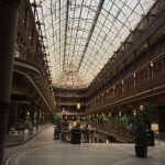 The Arcade, America's first indoor mall, originally built in 1890 by John D. Rockefeller