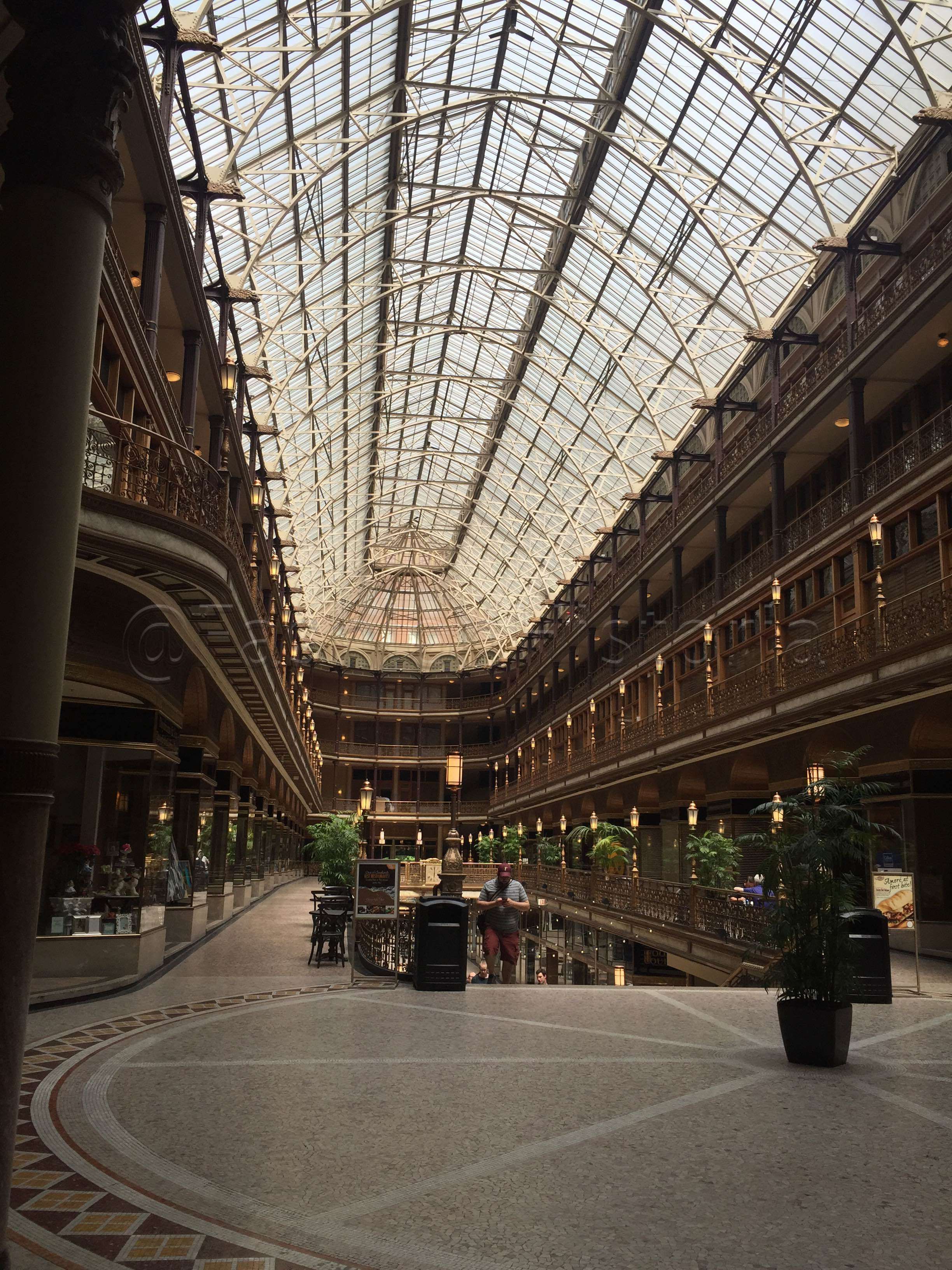 ariele elia fashion historia the arcade america s first indoor mall originally built in 1890 by john d