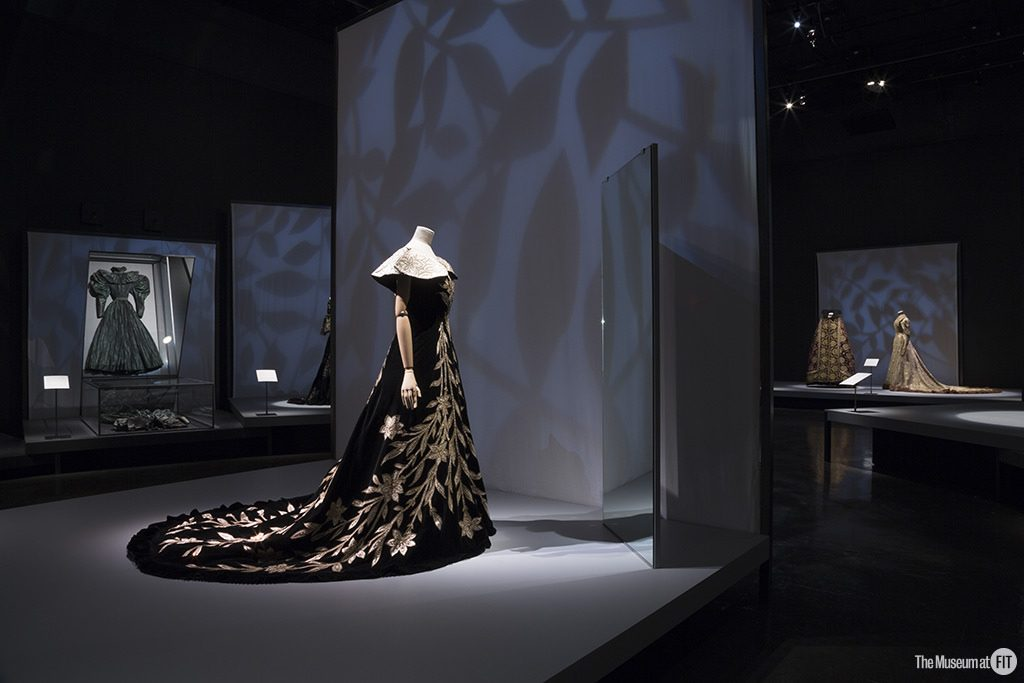 Installation view of the exhibition Proust's Muse, The Countess Greffulhe at The Museum at FIT. An exhibition developed by the Palais Galliera, Musée de la Mode de la Ville de Paris. Photograph © 2016 The Museum at FIT.