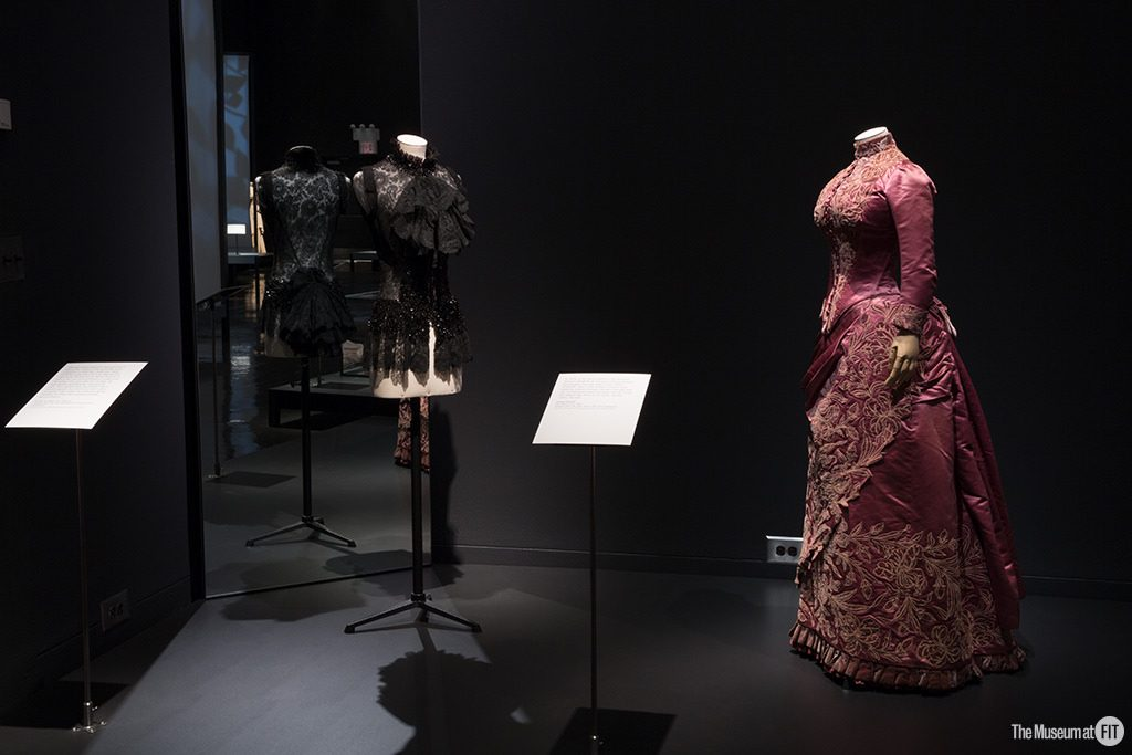 Installation view of the exhibition Proust's Muse, The Countess Greffulhe at The Museum at FIT. An exhibition developed by the Palais Galliera, Musée de la Mode de la Ville de Paris. Photograph :copyright: 2016 The Museum at FIT.
