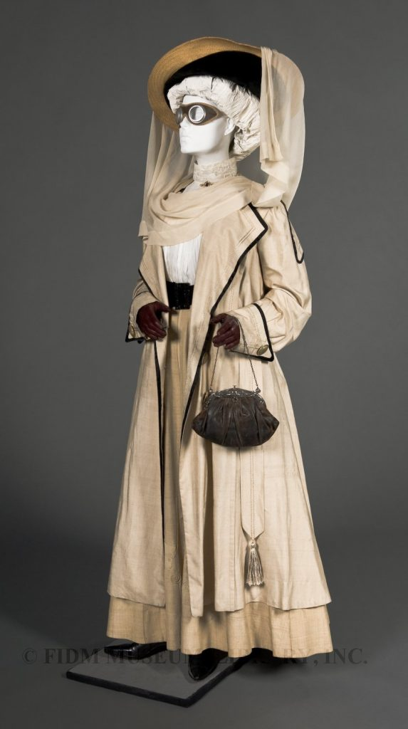 Duster Coat from FIDM used as an example of automobile fashion